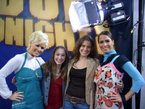 "Arianna and I on ""Idol Tonight,"" American Idol, Season 5"