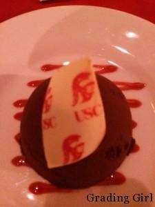 Trojan Cupcakes for dessert!!!